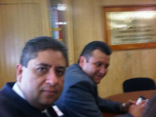 Jose Luis Flores Rosas y Miguel de la Cruz Gorocica