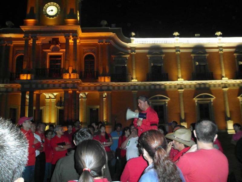 1° de mayo de 2012, se informaba antes de votar si estallaba el Movimiento General  Huelga en Conalep Nayarit